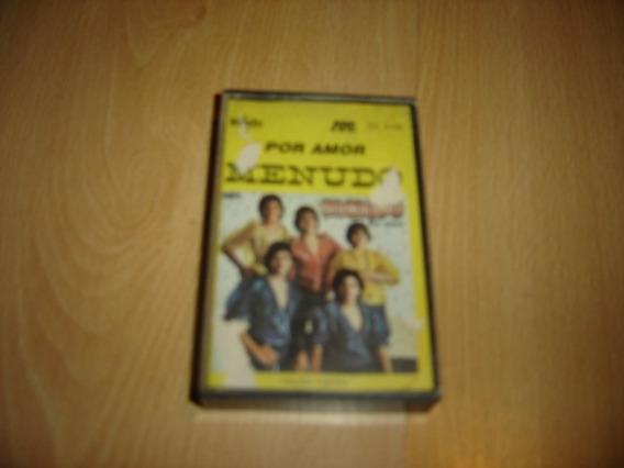 Menudo Por Amor Cassette Argentina Rare Ricky Martin