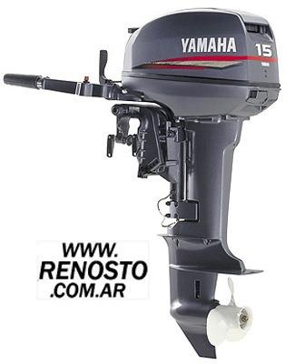 Motores Yamaha 15hp 2 Tiempos Pata Corta Renosto