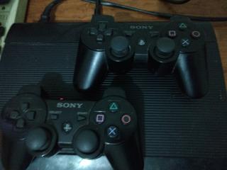 Playstation 3 Super Slim 250 Gb 2 Controles Y 2 Juegos