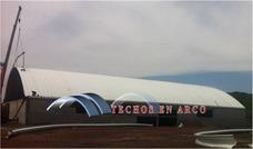 Arcotecho,techos En Arco,techos Sin Estructura,techos Curvos