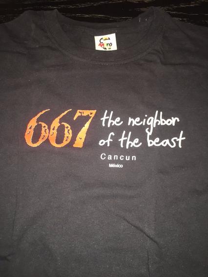 Iron Maiden 667 The Neighbor Of The Beast Camiseta Rara!!