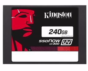 Hd Ssd 240 Gb Sata 3 Kingston Uv300