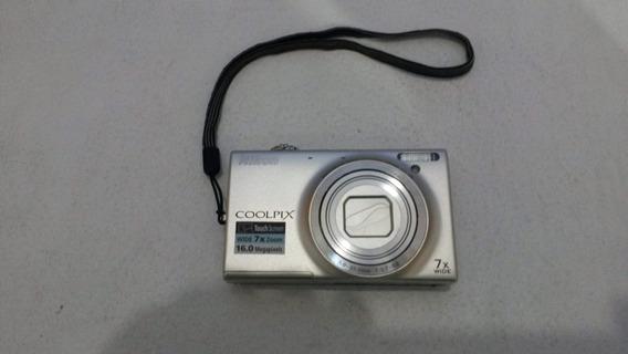 Camera Digital Nikon Coolpix S6100
