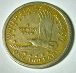 Usa:moneda De 1 Dólar Año 2000d- Mirala!!