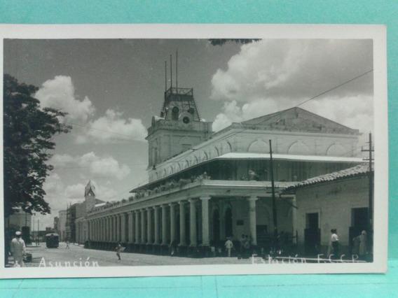 Postal De Paraguay Estacion De Ferrocarril De Asunción