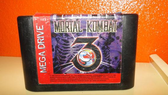 Cartucho Original- Ultimate Mortal Kombat- (mega Drive)