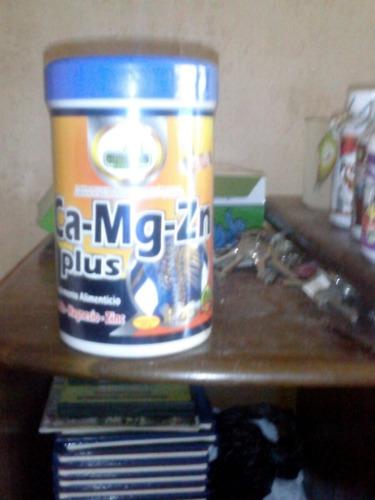 Calcio,magnesio,zinc Plus 500 Cc  Con Stevia Y Vitamina D En
