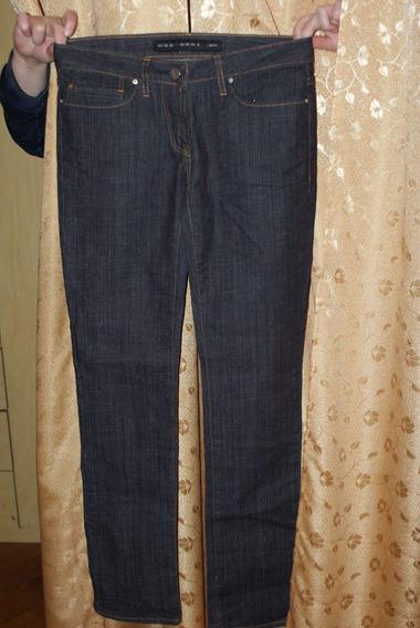 Jeans De Mujer Elastizado Chupin Uma T.27
