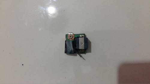 Placa Rede Conector Fax Netbook Positivo Mobo 3g 2055