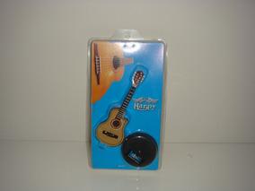 Miniatura De Violão Flat Elétrico No Blister 12cm