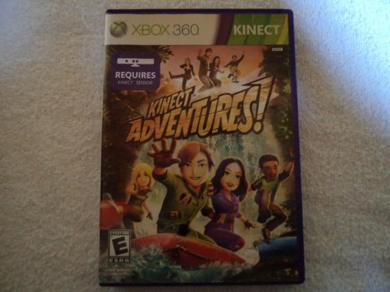 Jogo Original Kinect Adventures Xbox 360