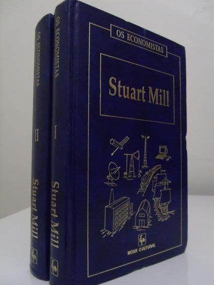 Livro - Os Economistas - Stuart Mill - 2 Volumes