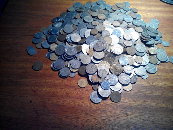 Lote De Medio Kilo [kg] De Monedas De Uruguay