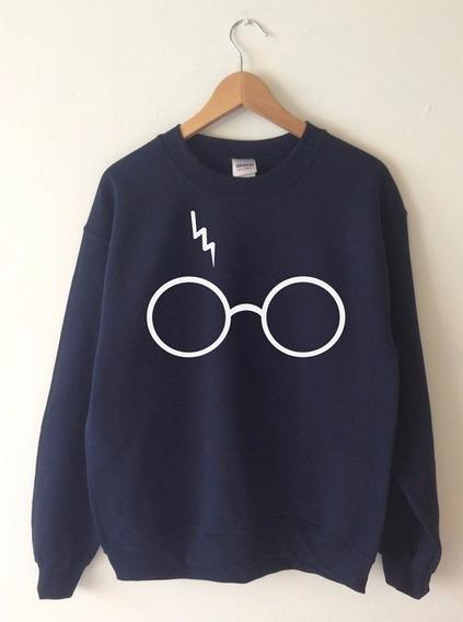 Blusa Moletom Harry Potter Cicatriz Óculos Unissex
