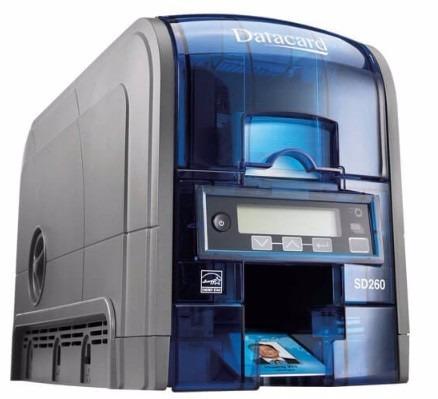 Impressora Colorida De Crachás Frente E Verso Sd360