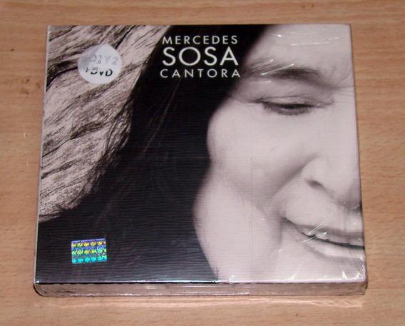 Mercedes Sosa Cantora Spinetta Cerati 2 Cd+dvd Nuevo Kktus