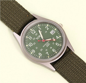 Relógio De Pulso Soki Militar Masculino Esportivo Original