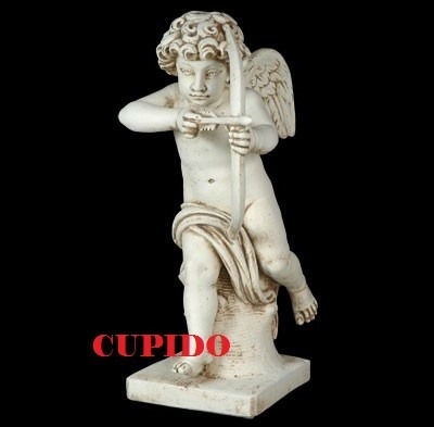 Estatua De Jardin, Cupido, Esculturas, Estatuas De Parques