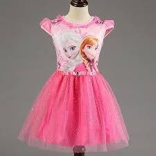 Vestido Disney Store Frozen Tutu - Elsa Y Anna