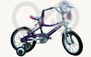 Bicicleta Nena Mussetta Fantasy 16 Violeta - Racer Bikes