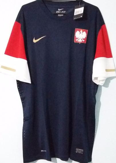 Camiseta Nike Polonia 2010 Suplente Tela Utileria Xxl