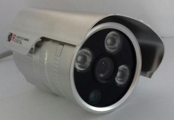 Câmera Bullet 8077 Com Infra 30m 1a Linha Aquicompras