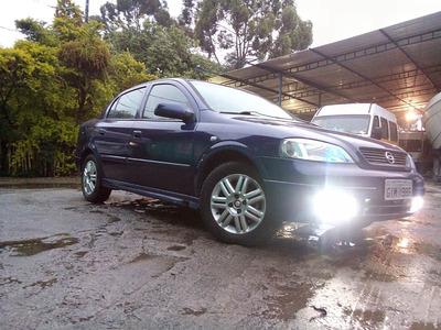 Chevrolet Astra Azul Perola Interior Em Couro Caramelo 100%