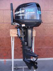 Motor Power Tec 25 Hp En Stock Todas Las Potencias Permutas!