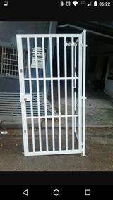 Grade De Ferro Porta 209x158 Etc...