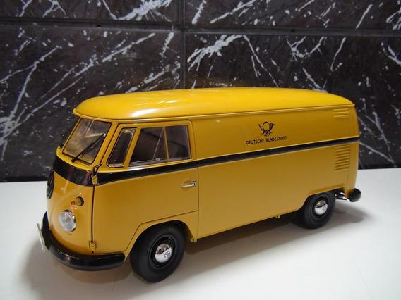Vw Kombi T1 Furgao Cor Amarelo Esc 1:18 Schuco (deutsche)