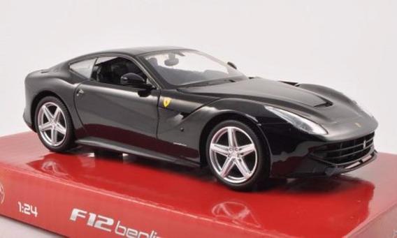 Ferrari F12 Berlineta Hot Wheels 1:24 Carros Miniaturas