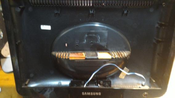 Carcaça Monitor Samsung 732nw C/ Base E Botoes De Imagem