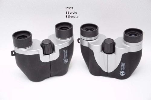 Mini Binoculo 10x22 Alta Visibilidade Super Alcance + Bolsa