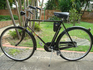 Bicicleta Bianchi Antiga Aro 28 Ano 1946 Toda Original Masc.