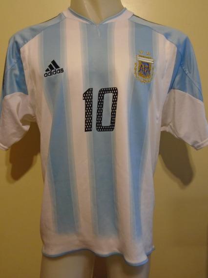 Camiseta Argentina Juegos Olímpicos 2004 Tévez #10 Boca M- L