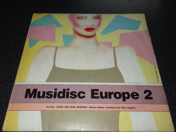 Musidisc Europe 2 Super Variado Eurodance Italo Tipo Gapul !