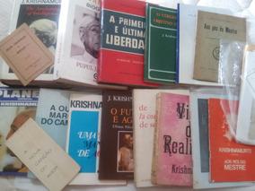 Krishnamurti, Lote Raro - 20 Livros +3 Livretos Entre Outros