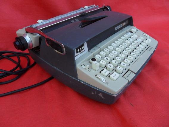 Antigua Maquina Escribir Smith Corona Electra 120 Electrica