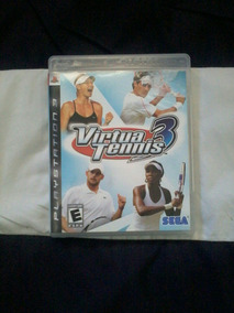 Virtua Tennis 3 Ps3 Semi Novo