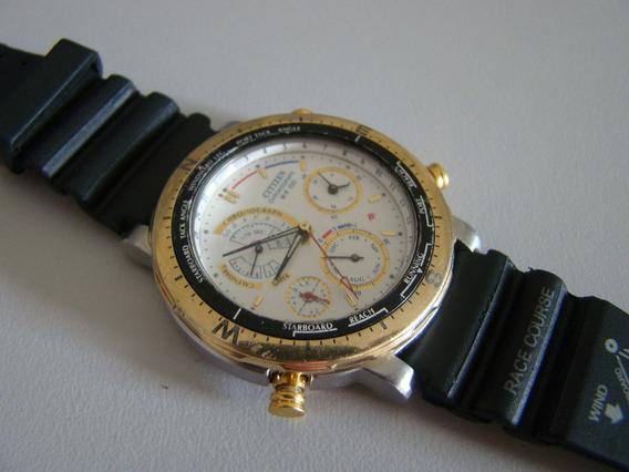 Relógio Citizen Raro 6750 Usado ( Leia Anúncio)