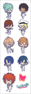 Plancha De Stickers De Anime Uta No Prince Shoujo