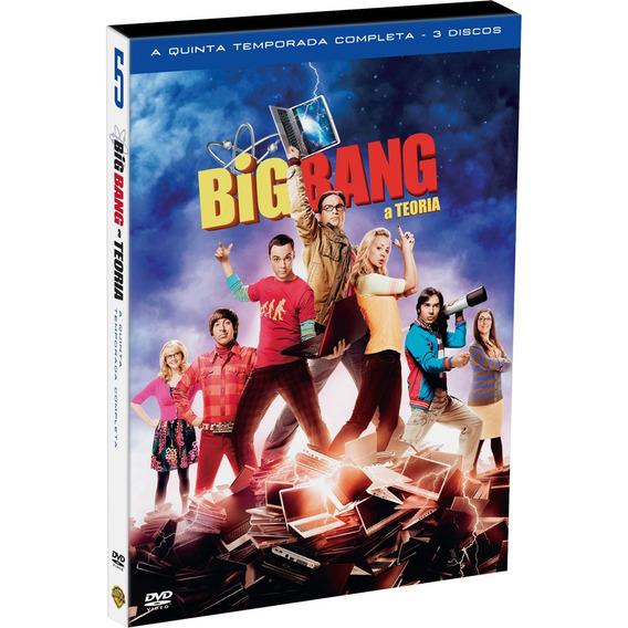 Box Big Bang Theory - A 5ª Temporada Completa - 3 Dvds