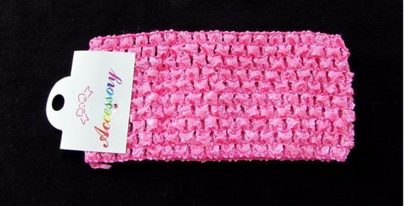 Faixa De Croche 4cm 30un, Para Montagem Revenda Tiara Reig
