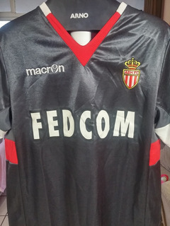 Camisa Macron Equipe Do Mônaco (league 1 - Liga Francesa)