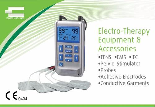 Imagen 1 de 5 de Electroestimulador - Fisioterapia Neuropatía Tens + Ems