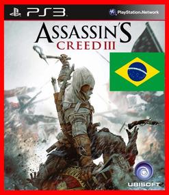Assassins Creed Iii Ac3 Ps3 Psn Dublado Portugues Br