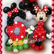 Decoracion Con Globos- Candy Bar Decorfiesta Eventos Caba !!
