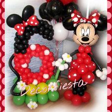 Decoracion Con Globos- Candy Bar Decorfiesta Eventos Caba !!