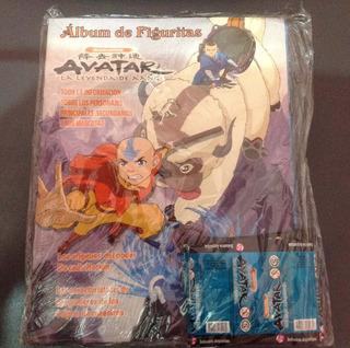 Álbum De Figuritas Avatar Y100 Sobres, Hacete Coleccionista!