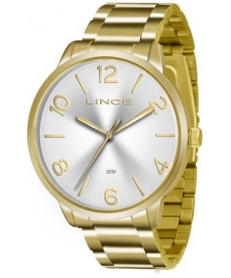Relógio Feminino Lince Casual Lrgj045ls2kx